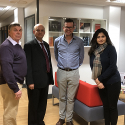 Nottingham Trent University, 2018 with Prof. Graves and Colleagues